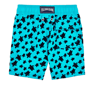 Boys Others Printed - Boys Swimtrunks Flocked Micro ronde des tortues, Curacao back