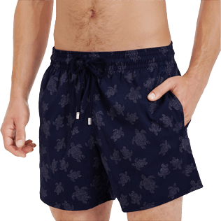 Homme CLASSIQUE STRETCH Imprimé - Maillot de bain homme Stretch Diamond Turtles, Bleu marine supp1