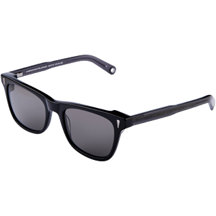 Others Solid - Unisex Sunglasses Polarised Smoke, Black back