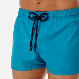 Men Short classic Solid - Men short and fitted stretch swimtrunks solid, Seychelles supp1