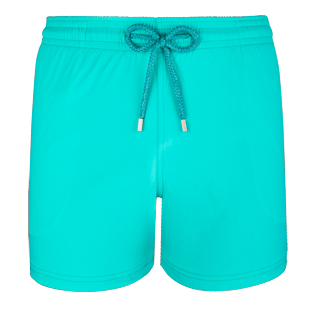 Men Stretch classic Solid - Men Stretch Swimwear Solid, Veronese green front