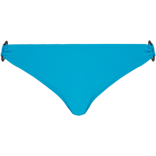 Women Classic brief Solid - Women asymetrical brief bikini Bottom Solid, Seychelles front