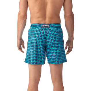 Men Classic / Moorea Printed - Baby Trop' Swim shorts, Azure supp3