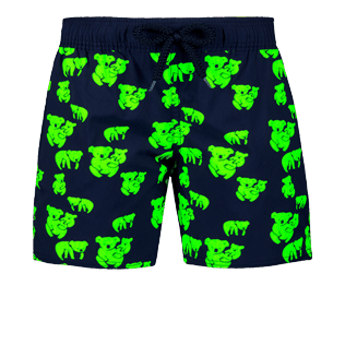 Boys Others Printed - Boys Glow in the dark Stretch swimtrunks Sydney, Navy supp1