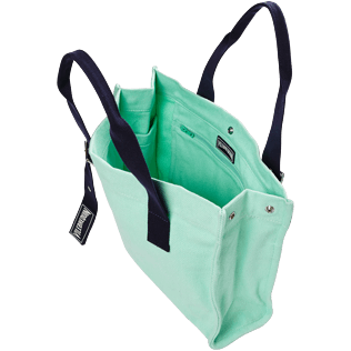 Others Solid - Small Cotton Beach Bag Solid, Mint supp2