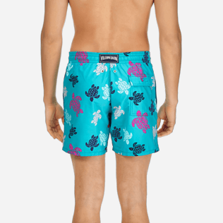 Men Classic Printed - Men Swimwear Multicolor Turtles, Curacao supp2