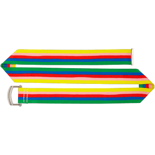Men Others Printed - Water-resistant belt Rainbow - Vilebrequin x JCC+ - Limited Edition, White back