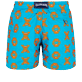 Men Classic Embroidered - Men Swim Trunks Embroidered Crabs - Limited Edition, Curacao back