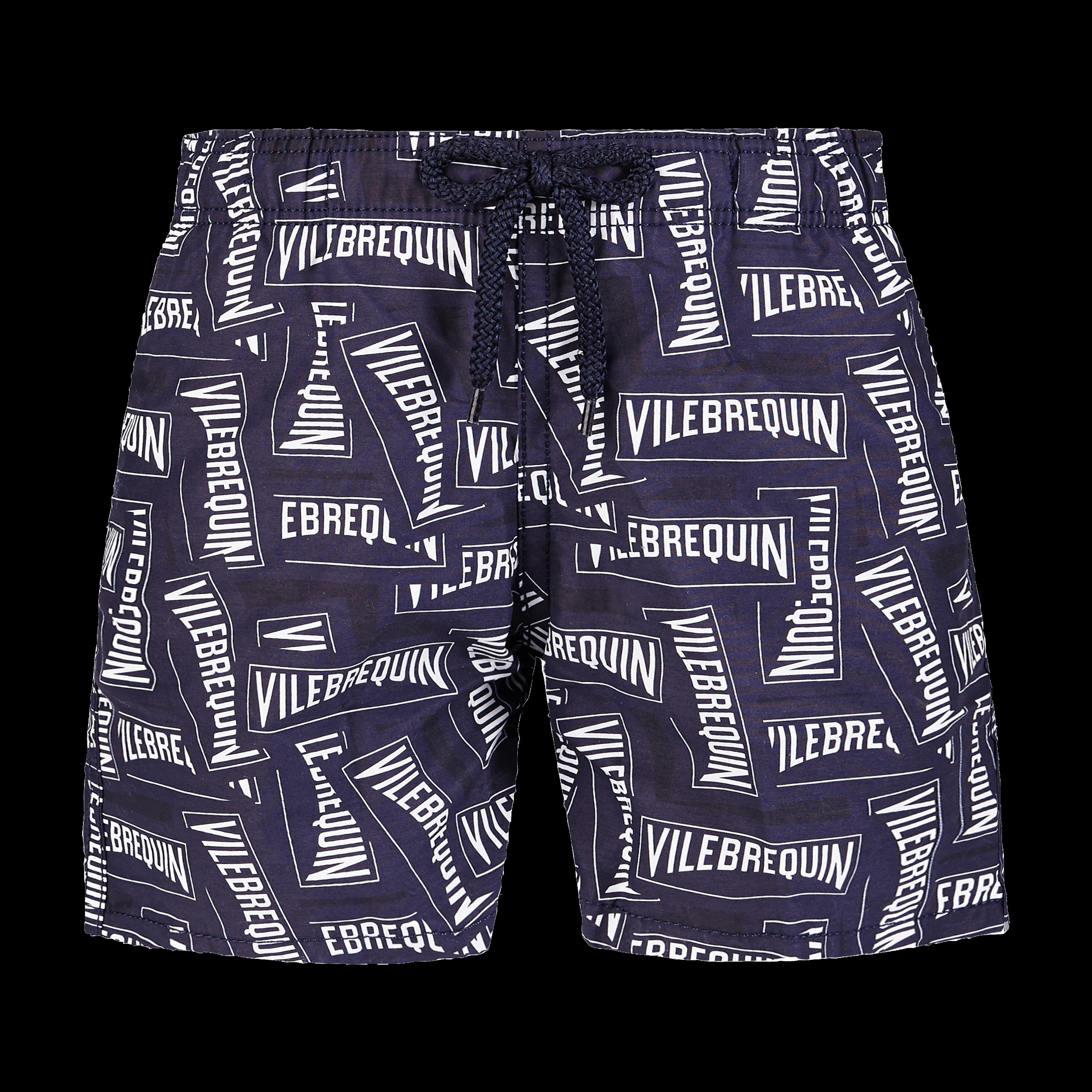 VILEBREQUIN | Boys Swimwear - Boys Swimwear Vilebrequin Labels - SWIMMING TRUNK - JIM - Blue - 14 - Vilebrequin | Goxip