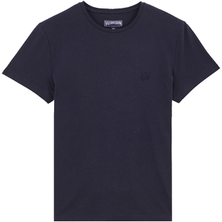 Men Others Printed - Men Cotton T-Shirt Crackers, Navy back