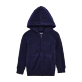 Boys Others Printed - Kids Terry Cloth Hoodie Modernist Fish, Navy front