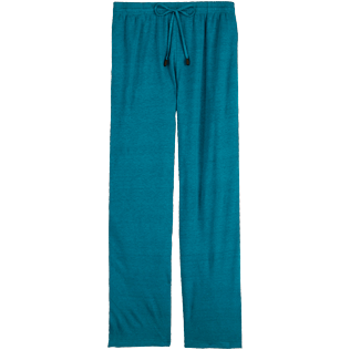 Women Others Solid - Women flowing Linen Pants Solid, Pine wood front