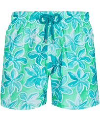 Men Ultra-light classique Printed - Men Swim Trunks Ultra-light and packable 1993 Raiatea, Cardamom front