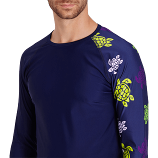 Men Others Printed - Men Rashguard Ronde des tortues, Navy supp1