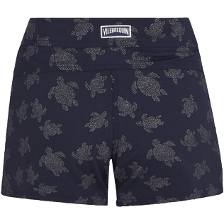 Donna Altri Stampato - Shorts da mare donna Diamond Turtles, Blu marine back