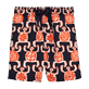 Boys Classic / Moorea Printed - Primitive Turtles Swim Shorts, Navy front