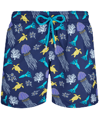 Men Classic Printed - Men Swim Trunks Rocket Medusa, Sapphire front