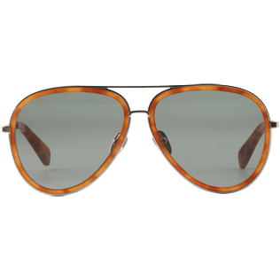 Sunglasses Solid - Polarised Sunglasses, Brown frontworn