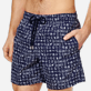 Men Classic Printed - Men Swimwear Fortune Teller Turtles, Midnight blue supp1