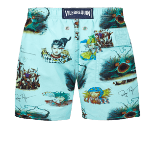 Boys Others Printed - Boys swimtrunks Joker Queen, Aquamarine back