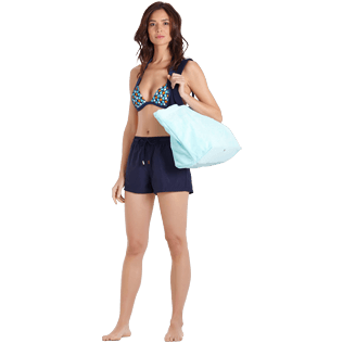 Women Others Solid - Women Swim short Solid, Navy supp2