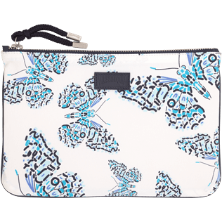 Bags Printed - Butterflies Zipped case, Azure front