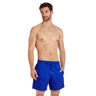 Men Classic Magique - Men Swimtrunks Water-reactive Crabs, Royal blue supp5