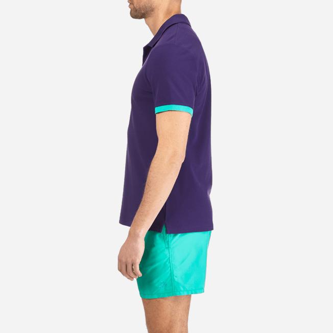 Vilebrequin - Polo en Piqué de Coton Homme Uni - 7