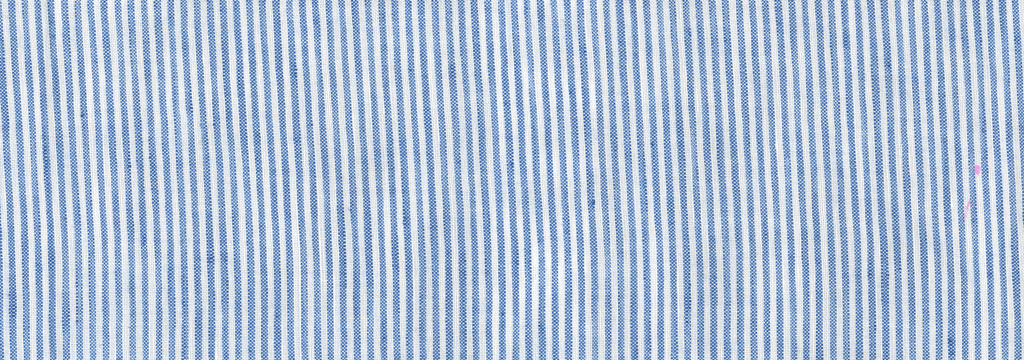 男童 Others 图像 - Striped Linen Round collar shirt, Sky blue pattern