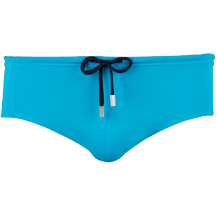 Men Swim brief and Boxer Solid - Men Fitted Swim Brief Solid, Seychelles front