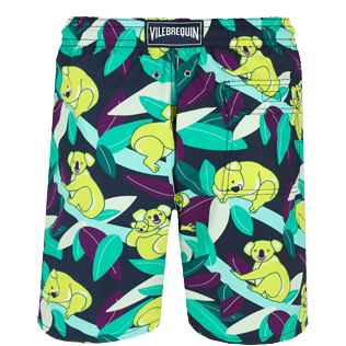 Men Long classic Printed - Men Swimtrunks Long Koalas, Navy back