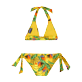 Girls Others Printed - Girls Two Pieces Swimsuit Go Bananas, Curry back