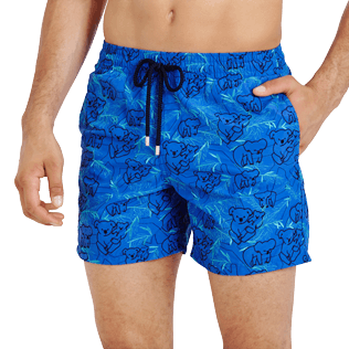 Men Embroidered Embroidered - Men Embroidered Swimwear Sydney - Limited Edition, Sea blue supp1
