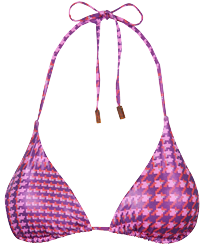 Women Triangle Printed - Women Triangle Bikini Top Crocros, Mumbai front