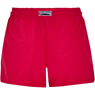Women Others Printed - Women water reactive Swim short Tulum, Gooseberry red back
