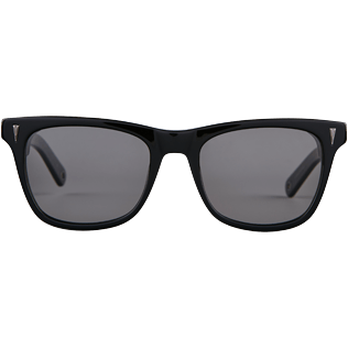 Sunglasses Solid - Unisex Sunglasses Polarised Smoke, Black front