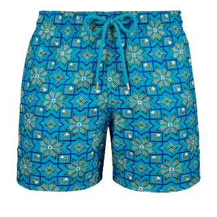 Men 017 Graphic - Men Embroidered swimtrunks Tanger - Limited Edition, Seychelles front