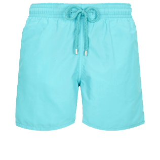 Men Classic Solid - Men Swim Trunks Solid, Lazulii blue front