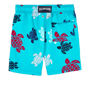 Boys Others Printed - Boys Swimtrunks Multicolor Turtles, Curacao back