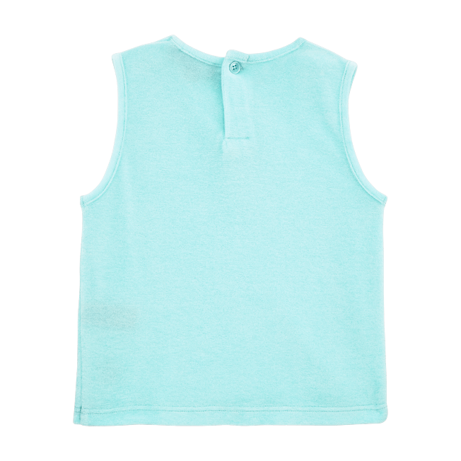 Vilebrequin - Girls Tank Top in Terry Cloth Solid - 2