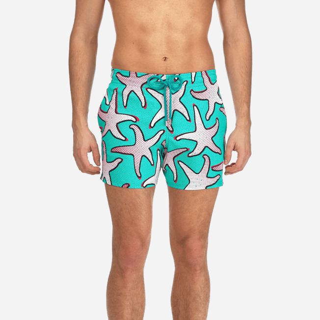 Vilebrequin - Maillot de bain Homme Stretch Starfish Art - 5