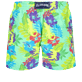 Men Classic Printed - Men Swim Trunks Les Geckos, Cardamom back