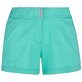 Women Others Solid - Women Stretch swim short Solid, Mint front