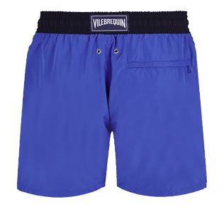 Men Ultra-light classique Solid - Men Swimwear Ultra-light and packable Bicolour, Royal blue back