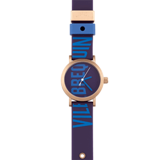 050 Solid - Vilebrequin 32mm Watch, Violet front