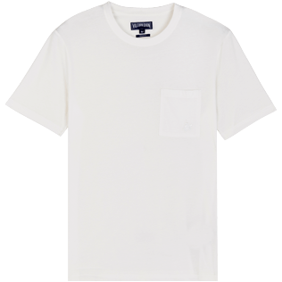 Men Others Solid - Men Organic Cotton T-Shirt Solid, Chalk front