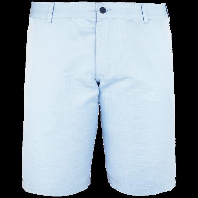 Vilebrequin - Men Straight Linen Cotton Bermuda Shorts Solid - 1