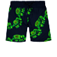 Boys Others Magical - Boys Swimwear Stretch Elephants Dance Glow in the dark, Navy frontworn