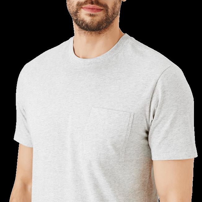 Vilebrequin - Camiseta en punto de algodón Pima liso para hombre - 5
