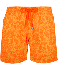 Men Classic Printed - Men Swimwear Ocean Paisley, Curry front